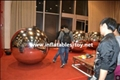 Golden Colors Inflatable Mirror Balls