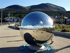 Giant Disco Mirror Balls, Large Party Silver Balloon, Waterproof Show Ball
