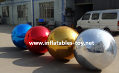 Christmas Decoration Si  er Balloon, Factory Made Colorfull Mirror Balls (Hot Product - 1*)
