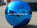 High Quality Blue Colors Mirror Balls