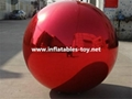 Whole Sale Red Colors Mirror Balls