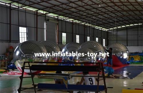 Waterproof PVC Silver Balloon