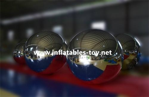 Christmas Decoration Silver Balloon, Factory Made Colorfull Mirror Balls 12
