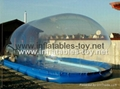 Clear Inflatable Pool Dome Tent, Inflatable Bubble Dome Tent for Pool Cover 5