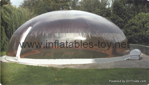 Inflatable Pool Snow Globe Dome Tent Inflatable Bubble Dome Tent For Pool Tuo Yi Inflatables