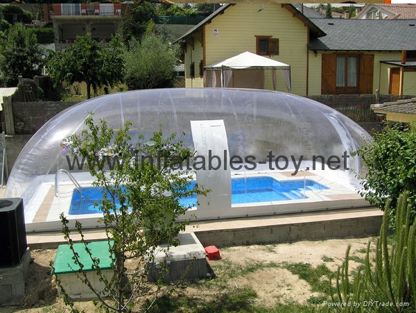 Inflatable Pool Clear Dome Tent Inflatable Pool Dome Tent Snow Globe Tuo Yi Inflatables