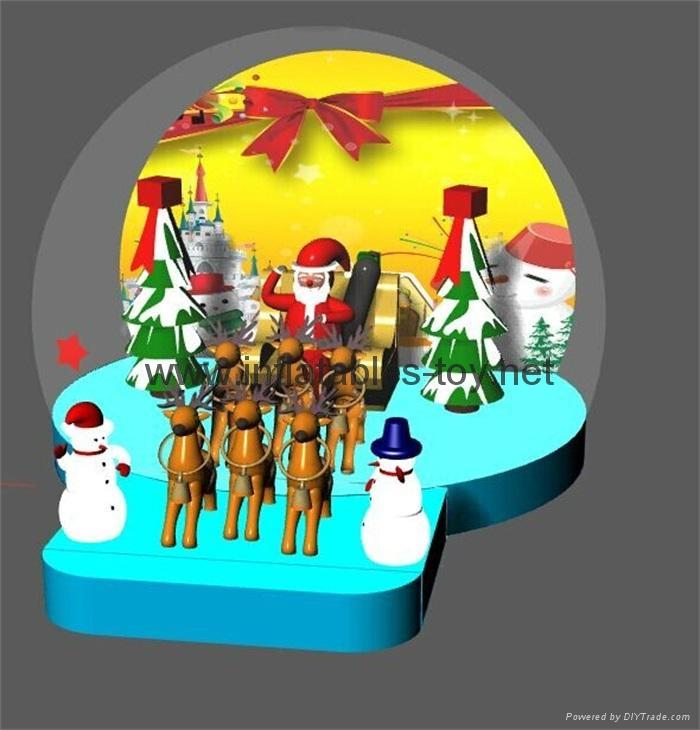 Christmas Snow Globe with Snowman and Christmas Tree 6