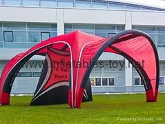X-gloo Tents, Advertisin