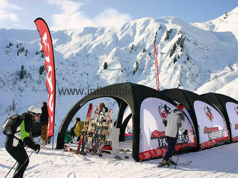 Advertising Inflatable X-gloo Tents with Printing 3