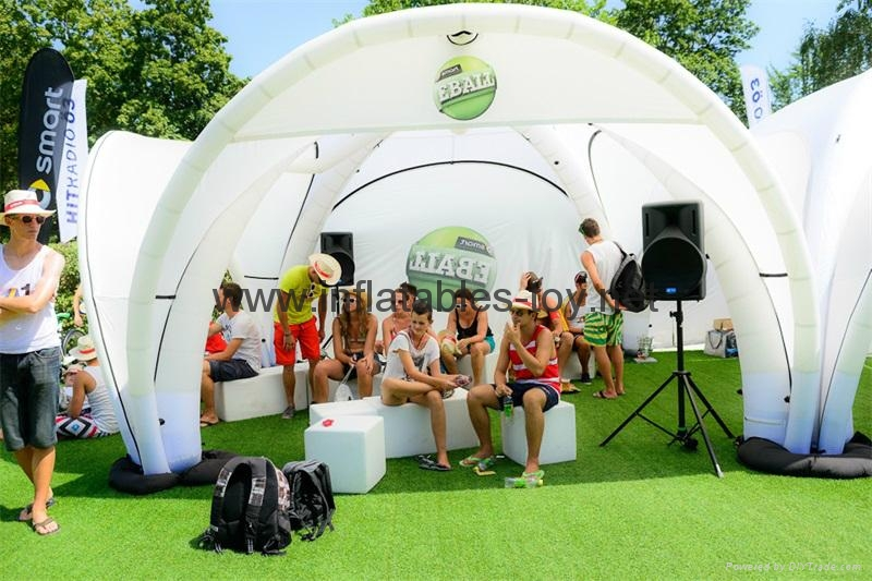 Advertising Inflatable X-gloo Tents with Printing 7