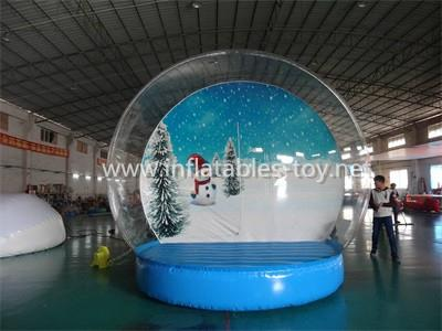 Christmas Decoration Inflatable Snow Globe Bubble Ball 2
