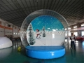 Christmas Decoration Inflatable Snow Globe Bubble Ball
