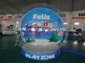 Christmas Decoration Inflatable Snow Globe Bubble Ball 4