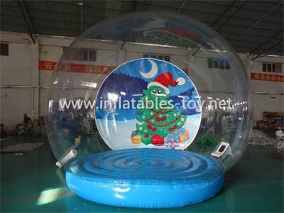 Christmas Decoration Inflatable Snow Globe Bubble Ball 5