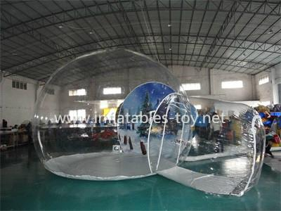 Christmas Decoration Inflatable Snow Globe Bubble Ball 6