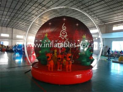 Christmas Decoration Inflatable Snow Globe Bubble Ball 1