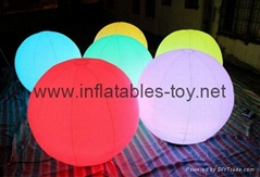 Inflatable Lighting Balloon, LED Decoration Spheres