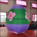 Easter Decoration Balloon, Colorful Inflatable Easter Eggs for Promotional 3