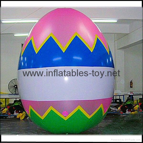 Easter Decoration Balloon, Colorful Inflatable Easter Eggs for Promotional 4