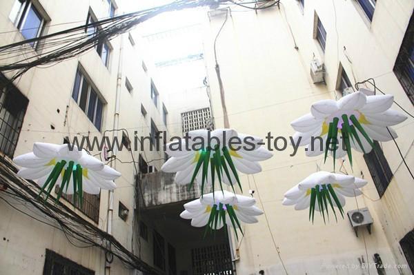 Lighting Inflatable Flowers