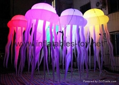 LED Lighting Jellyfish Inflatables, Inflatable Jellyfish for Event Decoration