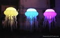 LED Lighting Inflatable Jellyfish for