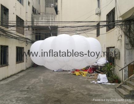 Event Decoration Inflatables Cloud for Hanging on Ceiling 6