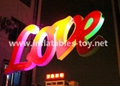 LED Love Letters for Event Wedding Decoration 2