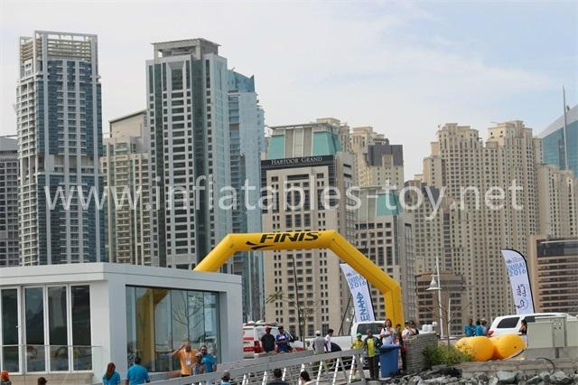 Outdoor Finish Line
