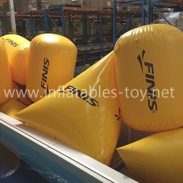 Inflatable Bouys for Open Water Swimming