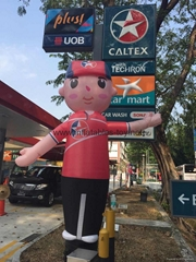 Caltex Blow up Advertising Air Dancer with Waving Hands