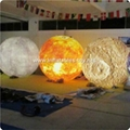 LED Lighting Inflatable Solar Planet Balloon for Event Decoration 11