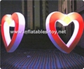 Inflatable LED Love Letters, Lighting