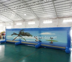 Advertising Inflatable Billboard, Outdoor Water Billboard