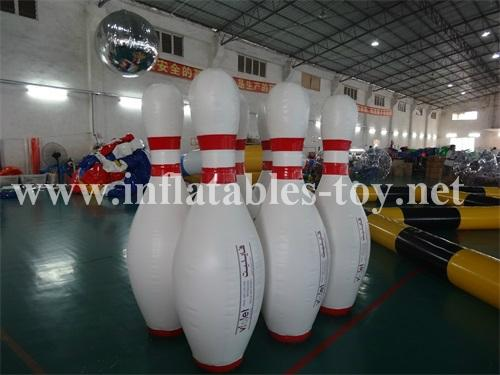 Inflatable Bowling Pins, Advertising Bowling Games 11