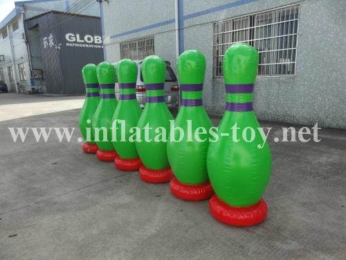 Inflatable Bowling Pins, Advertising Bowling Games 8