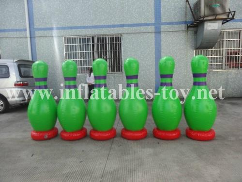 Inflatable Bowling Pins, Advertising Bowling Games 9
