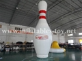 Inflatable Bowling Pins, Advertising Bowling Games 2