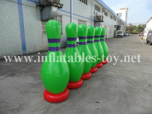 Inflatable Bowling Pins, Advertising Bowling Games 7