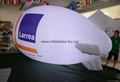 Luminou Advertising Helium Blimp, Printed Helium Zepelin with LED lights