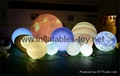 LED Globe Planet  Decoration Balloon, Inflatable Solar System Balloon 2