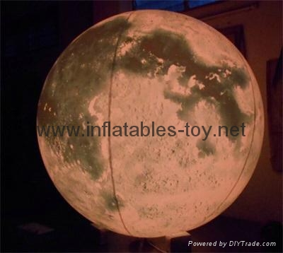 LED Globe Planet  Decoration Balloon, Inflatable Solar System Balloon 15