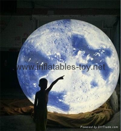 LED Globe Planet  Decoration Balloon, Inflatable Solar System Balloon 6