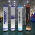 Inflatable Lighting Pillar, Running Race Tubes, Inflatable Lighting Cone 3