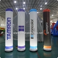 Inflatable Lighting Pillar, Running Race Tubes, Inflatable Lighting Cone