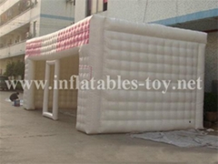 Durable Inflatable Airtight tents, Inflatable Cube Tent