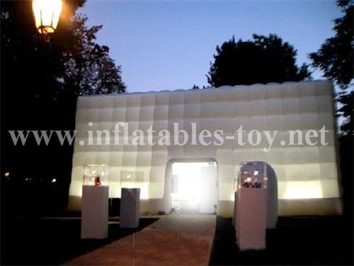 Inflatable Wedding Tent, Customized Inflatable Cube Tent 1
