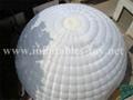 Inflatable Igloo Dome Tent , Inflatable Wedding Tent 5