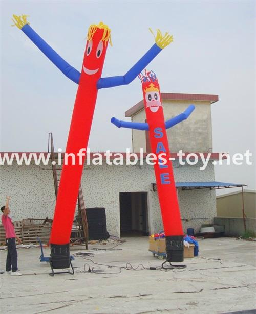 Blowing Up Sky Dancer with Printing for Advertising 4
