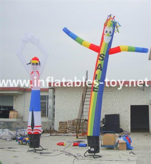 Blowing Up Sky Dancer with Printing for Advertising 5